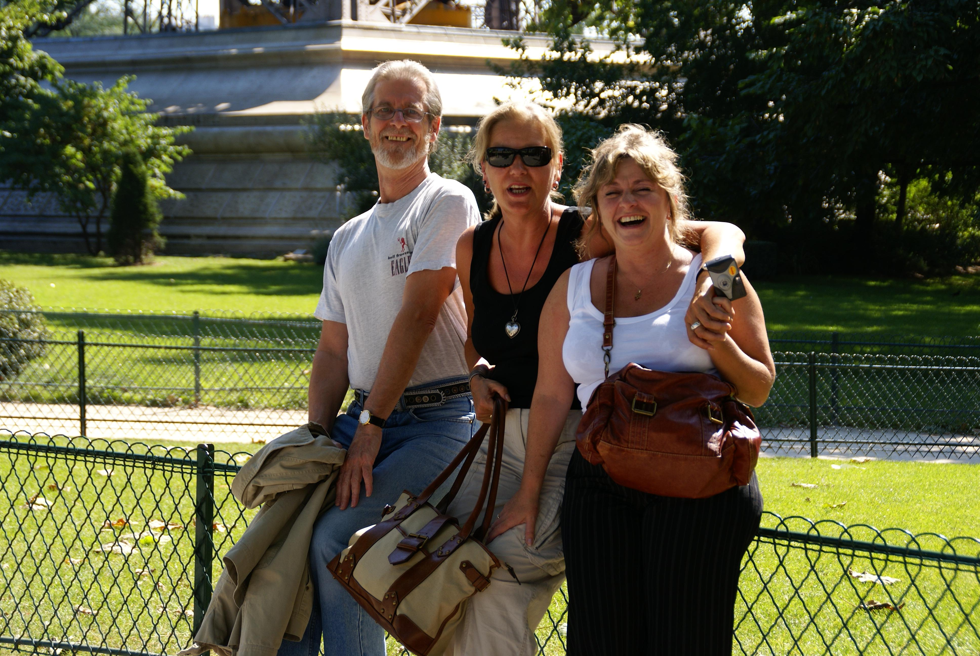 update clinical support for hse appeal robertboltondotorg bob beatrice and angela in the gardens near the eiffel tower paris photo gerard fealy