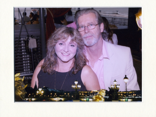 Angela and Bob in Paris (2006 or 2007)