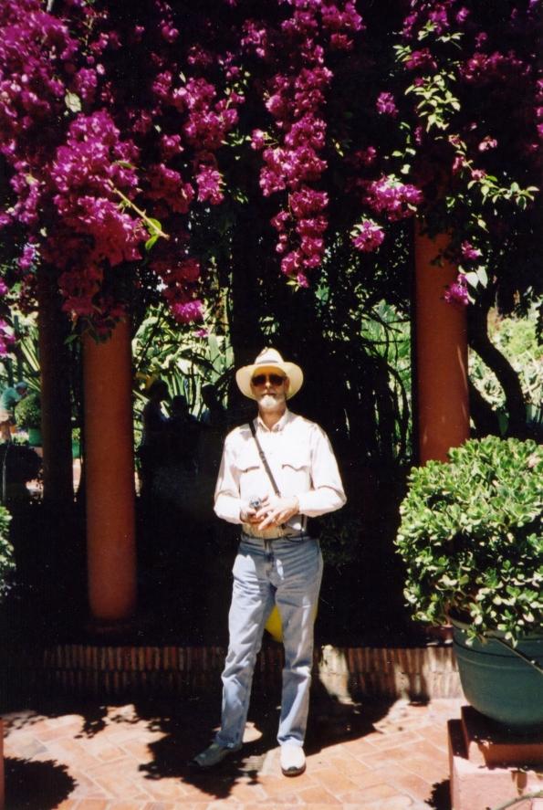 Bob in Moroccan Garden I