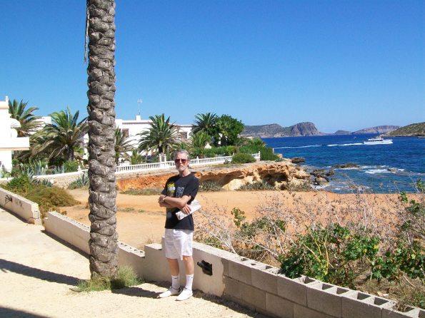 Bob in Es Cana, Ibiza, 2011