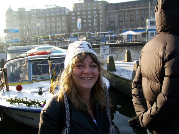 Angela, Amsterdam 2013, not one bit stoned