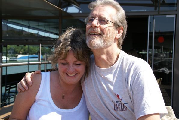 Angela and Bob, Paris, 2007