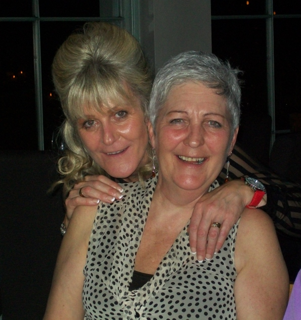 Valerie Kenny and Marie Smith, February 2013