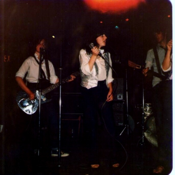 H2O at The National Ballroom, Parnell Square, 1979. Photo: Martha Fealy