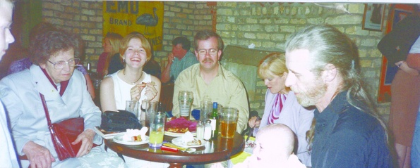 Mrs Bolton, Bronwyn, Eamonn, Zita, Bob and Luke